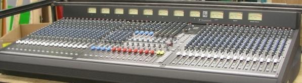 32 Channel Soundcraft K2 mixing board