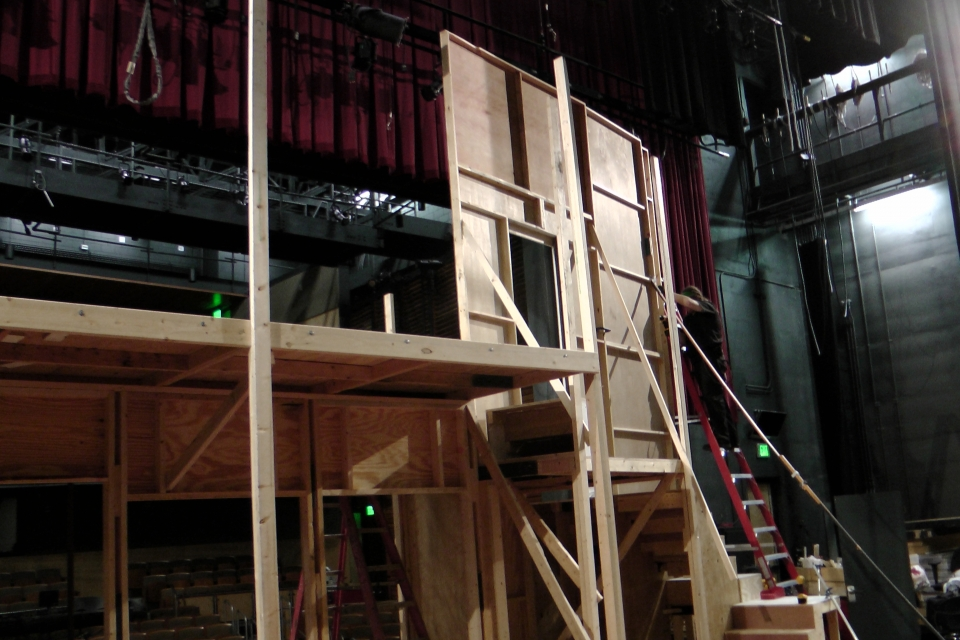 Noises Off Turn Table Scott Parker Technical Director 48