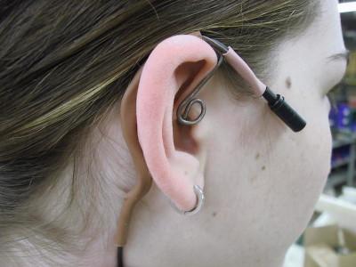 Ear Clip type head worn mic